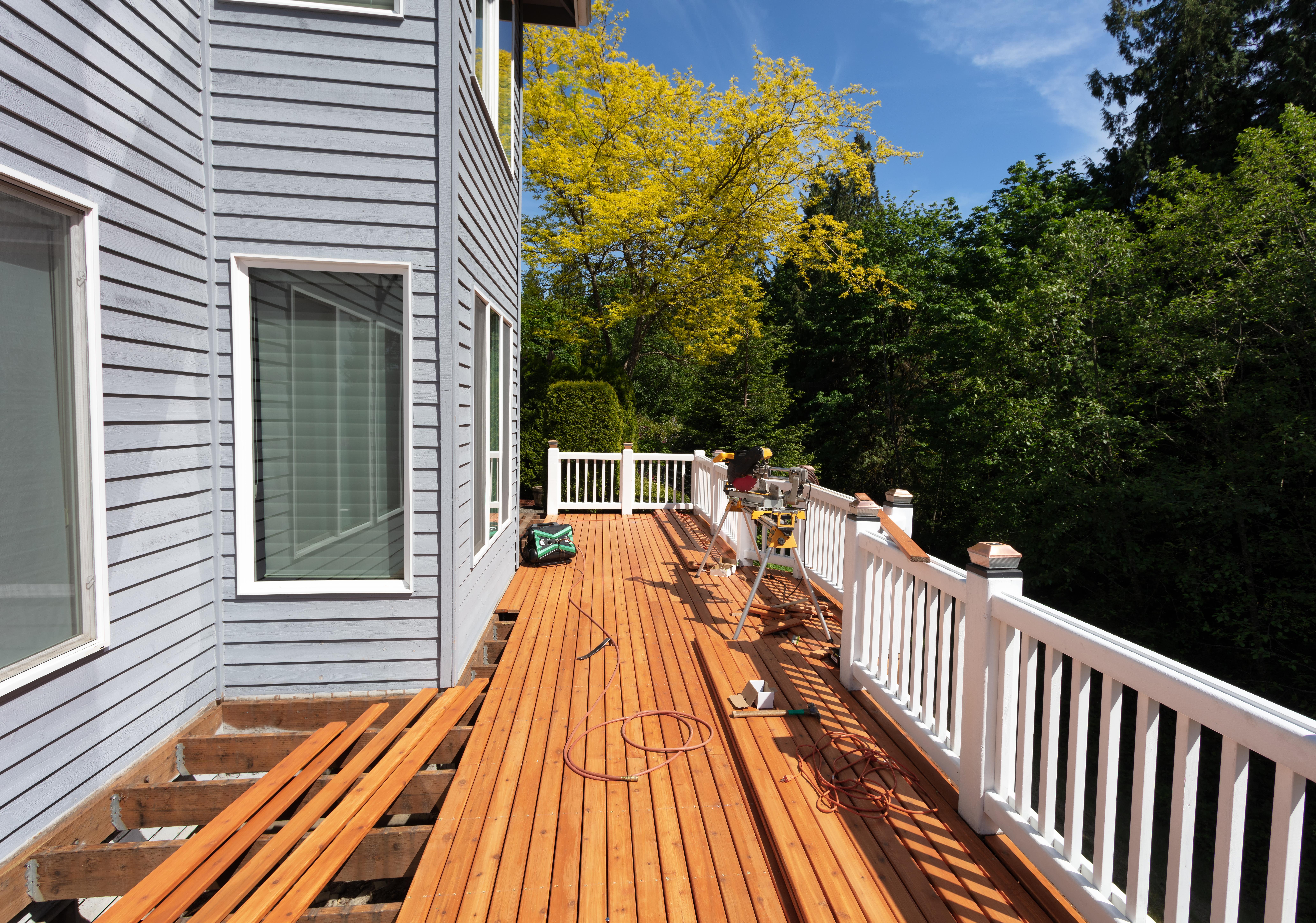 Back Deck Build